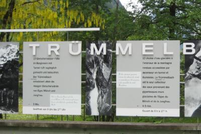 Treummelbach falls